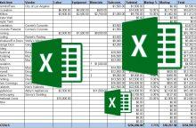 """40 greitųjų """"Excel"""" komandų, kurias būtina žinoti"""