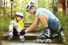 Važinėjimas riedučiais: nauda ir pranašumai