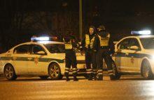 Savaitgalį – keturi policijos reidai