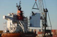 """""""Vakarų laivų remontas"""" užbaigė """"Spliethoff"""" laivų modernizacijos projektą"""