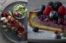 Šventiniam savaitgaliui – šventinė antienos krūtinėlė bei bretoniškos tešlos pyragas