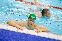 Plaukikas D. Rapšys Belgijoje iškovojo dar du medalius