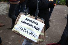 Apklausa: per metus šiek tiek sumažėjo nepatenkintųjų demokratijos veikimu