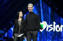 """""""Eurovizijos"""" organizatoriai žada stebinti ne tik netikėtu vedėjų duetu"""