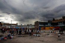 """Netoli Meksikos pakrantės siaučia atogrąžų audra """"Pilar"""""""