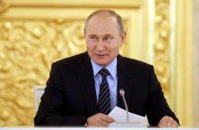 Rusijos stačiatikių vyskupas ragina nebalsuoti už V. Putiną