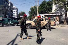 Kabule susisprogdino savižudis, tarp sužeistųjų – ir prancūzai