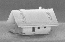 Mokslininkai pastatė mažiausią pasaulyje namą