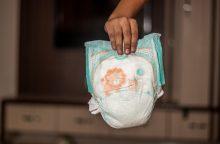 Sveikatos apsaugos pareigūnai susirūpino dėl cheminių medžiagų sauskelnėse