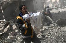 Sirijos pajėgoms bombarduojant Rytų Gutą žuvo 44 civiliai