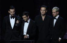 """Poproko grupė """"The 1975"""" susišlavė svarbius """"Brit Awards"""" apdovanojimus"""