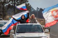 Rusija minės penktąsias Krymo atplėšimo nuo Ukrainos metines