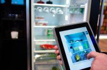 Kas užtikrina, kad išmaniuosius šaldytuvus ir virykles valdysime patys?