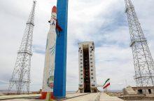 Iranas skelbia paleidęs orbitos nepasiekusį palydovą