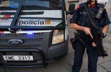 Katalonijos policininkai atsidūrė nepavydėtinoje padėtyje