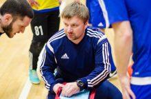 Lietuvos U-19 salės futbolo rinktinę treniruos A. Danilenko