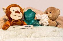 Gripas pamažu traukiasi