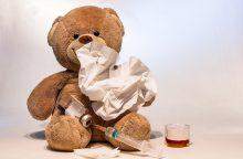 Siaučiant gripui siūlo įsteigti specializuotas vaikų zonas