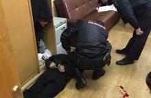 Rusijoje į radijo stotį įsiveržęs užpuolikas subadė laidos vedėją <span style=color:red;>(papildyta)</span>