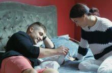 I. Puzaraitė-Čepononienė su sūnumi atsidūrė ligoninėje