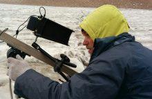 Kino režisierius A. Stonys: dalis Audriaus širdies liko Tian Šanio ledynuose