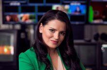 TV laidų vedėja R. Šakalytė-Jakovleva: esu ne tik graži, bet ir protinga