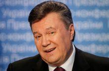 Buvęs Ukrainos prezidentas pripažintas kaltu dėl valstybės išdavimo