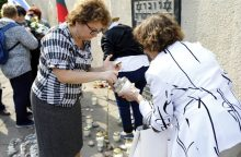 Klaipėdoje paminėta Žydų genocido diena