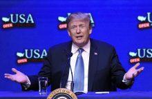 D. Trumpas ketina įvesti naujus apribojimus Kinijos įmonėms?