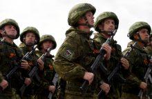 Rusijoje vyksta pasirengimas didelėms karinėms pratyboms