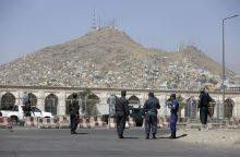 Kabule driokstelėjo galingas sprogimas: žuvo mažiausiai trys žmonės