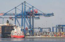 Klaipėdos uosto siekis: krovinių tranzitas tarp Lietuvos ir Baltarusijos toliau augs