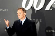 D. Craigas vėl vaidins Džeimsą Bondą