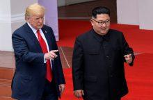 Aiškėja, kur įvyks antrasis D. Trumpo ir Kim Jong-uno susitikimas