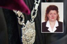 Girta prie vairo įkliuvusi teisėja G. Kazilionienė bus atleista už žeminantį poelgį