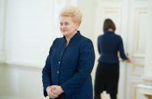 Prezidentė pasirašys Lietuvos stojimo į EBPO sutartį