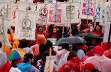 Los Andžele didelis mokytojų streikas paveikė pusę milijono mokinių