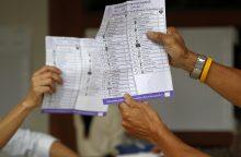 Rinkimus Tailande netikėtai laimi karinė stovykla