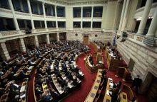 Graikijos parlamentas pradėjo diskusijas dėl susitarimo su Makedonija