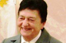 Mirė poetė A. Sabonytė-Kazlauskienė