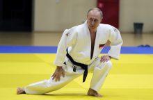 Nelaimė Sočyje: V. Putinas susižalojo per dziudo treniruotes