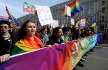 Sankt Peterburgo draudimas rengti gėjų eitynes apskųstas EŽTT