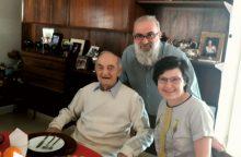 Netikėtas susitikimas: Izraelyje skambėjo D. Dolskio dainos