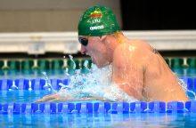 Kanadoje prasideda pasaulio plaukimo čempionatas: pirmą dieną kovos penki lietuviai