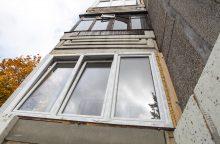Ukrainietis iššoko iš penkto aukšto balkono