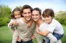 Siūlo didinti papildomą NPD daugiau nei vieną vaiką auginančioms šeimoms