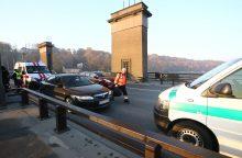 Po Vytauto Didžiojo tiltu rastas vyro kūnas