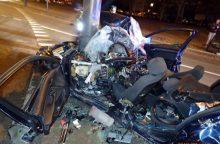 Dėl tragiškos BMW avarijos – naujausios žinios