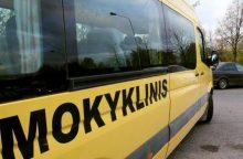 Zarasuose mokyklinis autobusas partrenkė mažametę