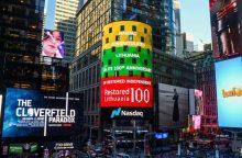 Lietuvos trispalvė nušviečia Niujorką, Tel Avivą, Varšuvą ir Taliną